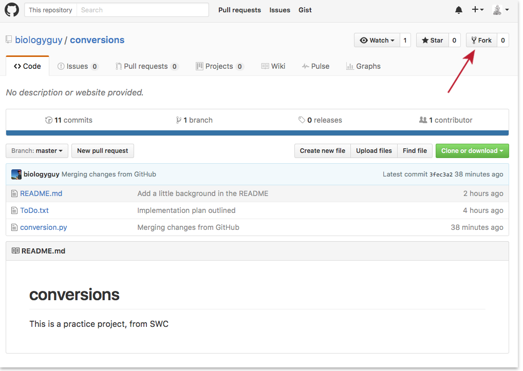 Version Control with Git: Forks and Pull Requests